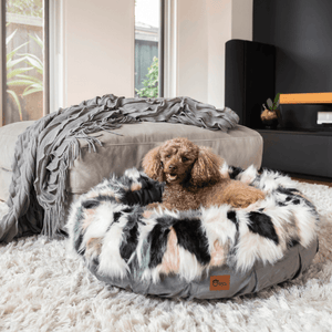 Harley Dog Bed Faux Fur Collection
