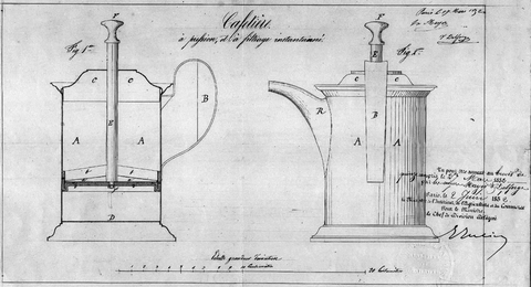 Traditional Design Of French Press