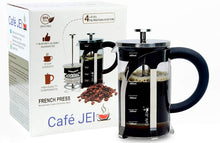 Load image into Gallery viewer, French Press Coffee and Tea Maker 600ml (Silver)