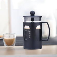 Load image into Gallery viewer, cafe jei french Press coffee maker plastic black