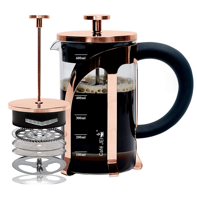 Cafe JEI French Press Coffee and Tea Maker 600ml
