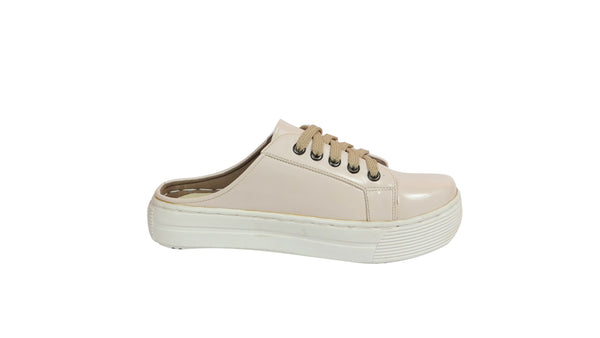 MILLA HALF SHOES | CREAM