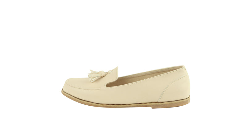 JELITA FLAT SHOES | CREAM