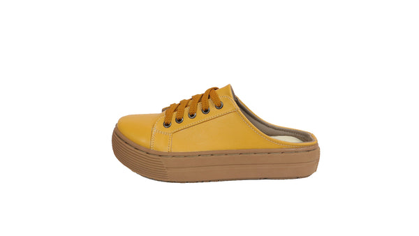 MILLA HALF SHOES | MUSTARD