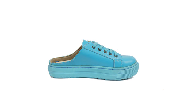 MILLA HALF SHOES | OCEAN BLUE
