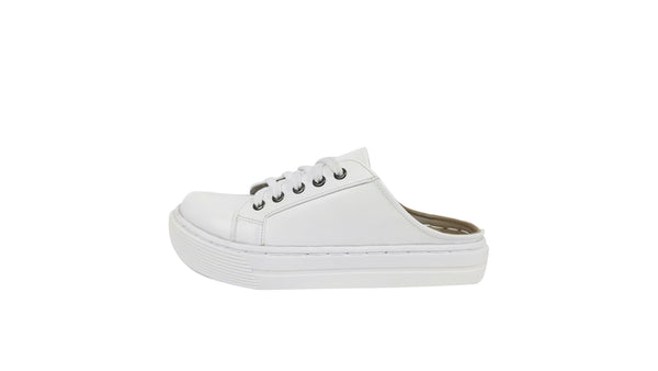 MILLA HALF SHOES | WHITE
