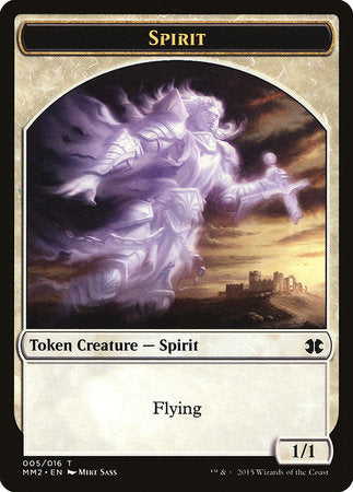 Spirit Token [Modern Masters 2015 Tokens] | Gate City Games LLC
