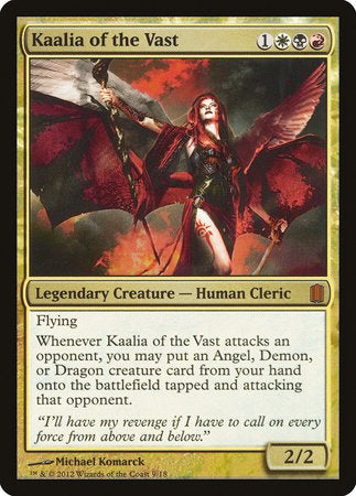 Kaalia of the Vast [Commander's Arsenal] | Gate City Games LLC
