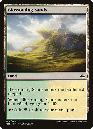 Blossoming Sands [Fate Reforged] | Gate City Games LLC