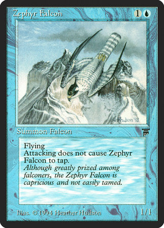 Zephyr Falcon [Legends] | Gate City Games LLC