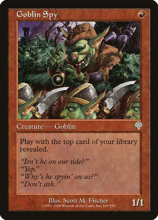 Goblin Spy [Invasion] | Gate City Games LLC