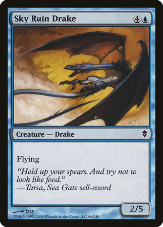 Sky Ruin Drake [Zendikar] | Gate City Games LLC