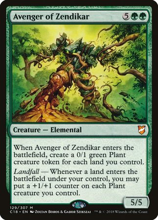 Avenger of Zendikar [Commander 2018] | Gate City Games LLC
