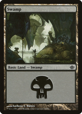 Swamp (62) [Duel Decks: Garruk vs. Liliana] | Gate City Games LLC