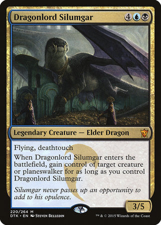 Dragonlord Silumgar [Dragons of Tarkir] | Gate City Games LLC