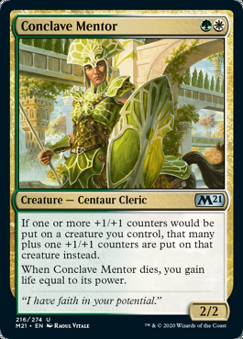 Conclave Mentor [Core Set 2021] | Gate City Games LLC