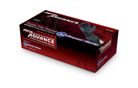 Nitrile Exam Powder-Free Glove - METAL ADVANCE