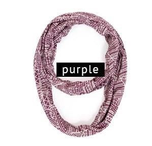 Abstract Infinity Scarf