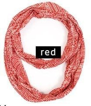Load image into Gallery viewer, Abstract Infinity Scarf