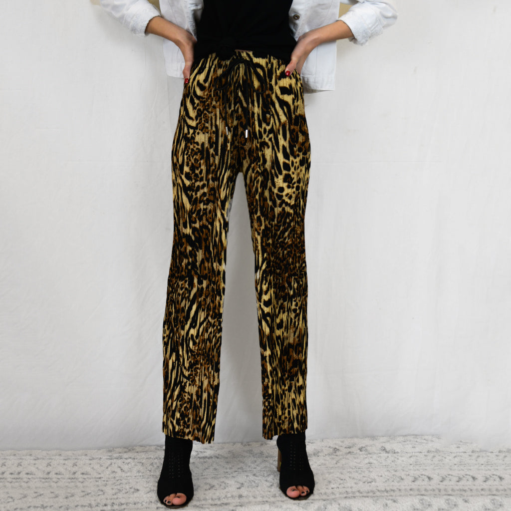 Cheetah Pleated Pant Bundle