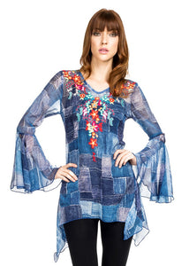 Georgette Printed Top