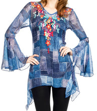 Load image into Gallery viewer, Georgette Printed Top