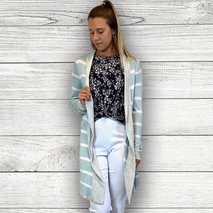 Stripe Open Cardigan (bundle)