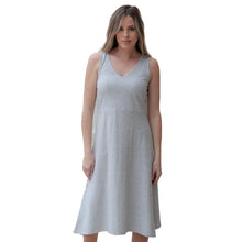 Load image into Gallery viewer, Crisscross Back Dress Gray (bundle)