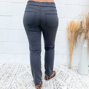 Pull On Ponte Jegging