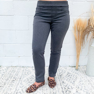Pull On Ponte Jegging Curvy