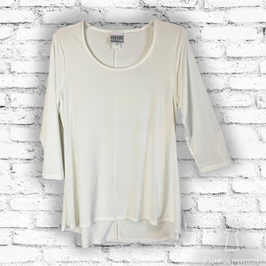Essential Hi-Lo Tunic - Solid - Curvy