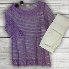 Load image into Gallery viewer, Crochet Mesh Tunic Curvy (bundle)