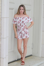 Load image into Gallery viewer, Vintage Rose Romper