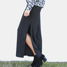 Load image into Gallery viewer, Ribbed Knit Wide Leg Pant w/ Side Slit (bundle)