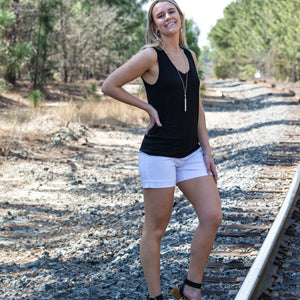 Raw Cut V-Neck Tank Top (bundle)