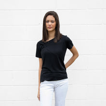 Load image into Gallery viewer, S/S Solid T-shirt w/ Knot at Neck Detail (bundle)
