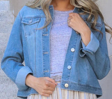 Load image into Gallery viewer, Light Wash Denim Jacket  (bundle)