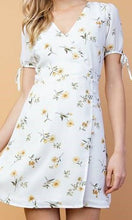 Load image into Gallery viewer, Lily Of Valley Floral Wrap Dress