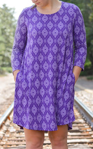 3/4 Sleeve Tunic Dress w/ Pockets (bundle)