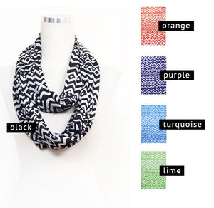 Modern Flame Infinity Scarf
