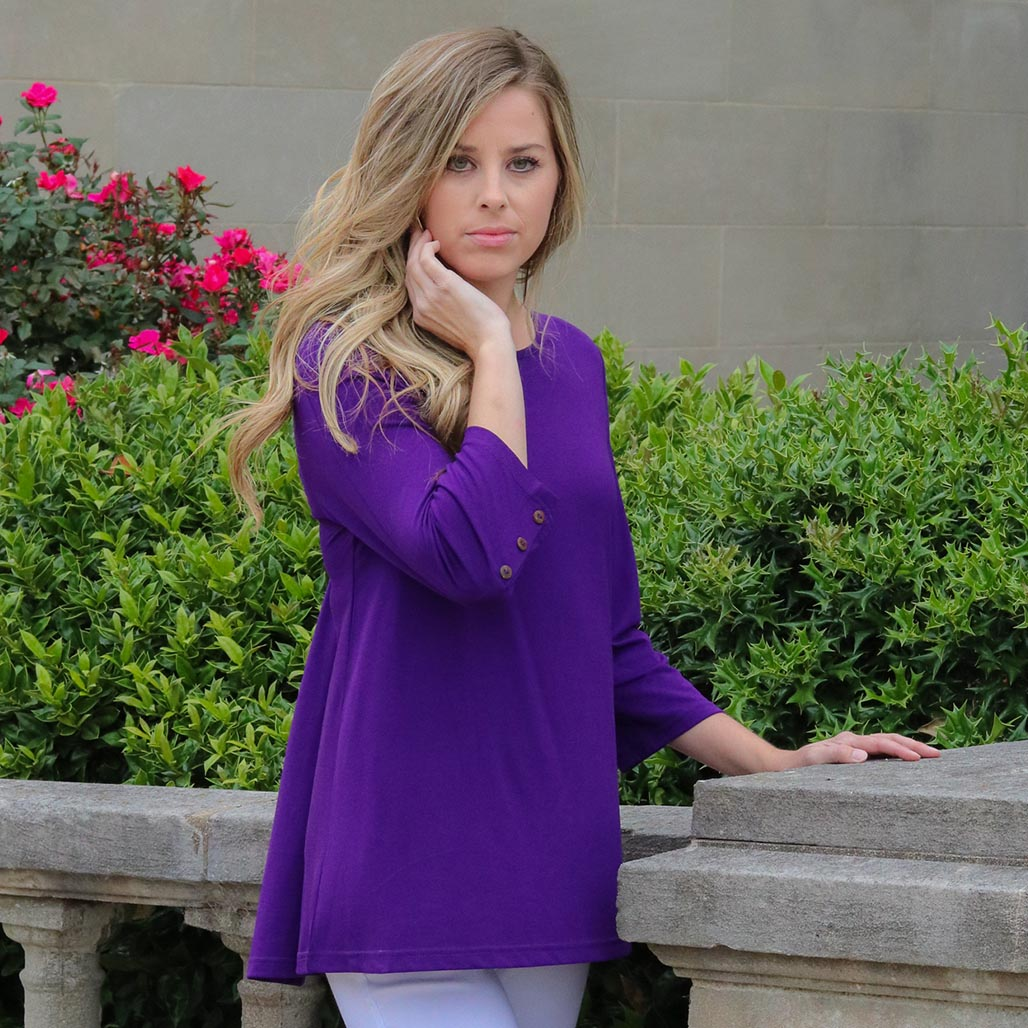 Button Sleeve Tunic (bundle)