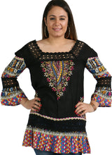 Load image into Gallery viewer, Crochet Lace Trim Tunic (bundle)
