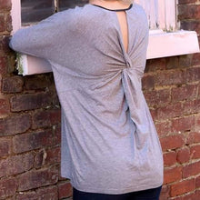 Load image into Gallery viewer, Dolman Slv Twist Back Tunic