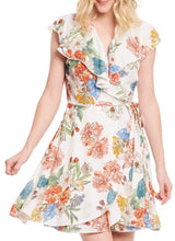 Load image into Gallery viewer, S/L Mini Floral Dress