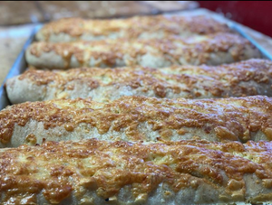 Volker's Bakery Utah - Asiago Cheese Bread