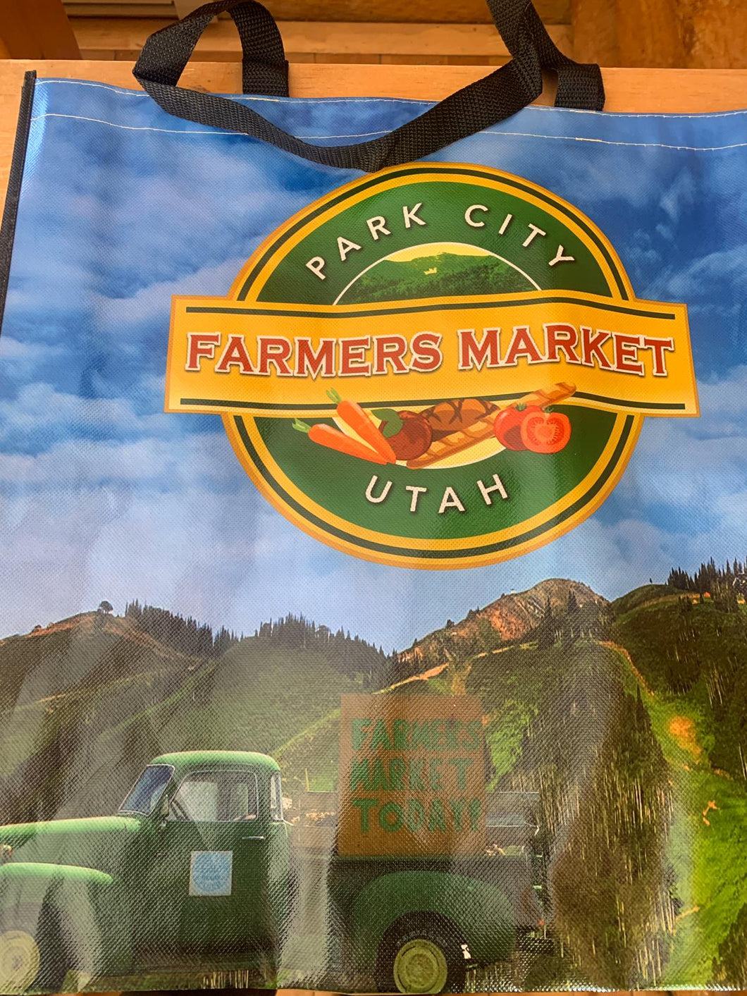 Park City Farmer's Market Re-Usable Shopping Bag