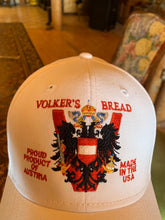 Load image into Gallery viewer, Volker's Bakery Artisan Crest Logo Ballcap (One Size Fits All)