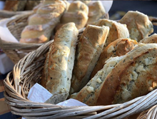 Load image into Gallery viewer, Volker's Bakery Utah - Asiago Basil Bread