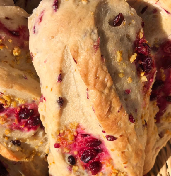 Volker's Bakery Utah - Orange Cranberry Bread