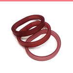 Load image into Gallery viewer, Drim Trio set of 3 rubber bracelets in 8 colors